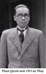 Pham Quynh_1922 tai Phap
